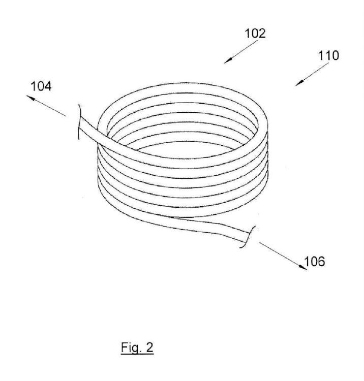 Dispositivo de tratamiento térmico, en particular para salchichas.