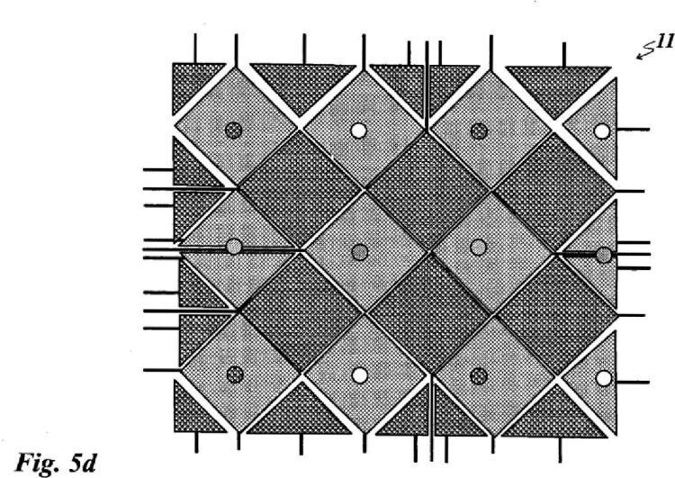 Dispositivo de campos táctiles de funcionamiento capacitivo.