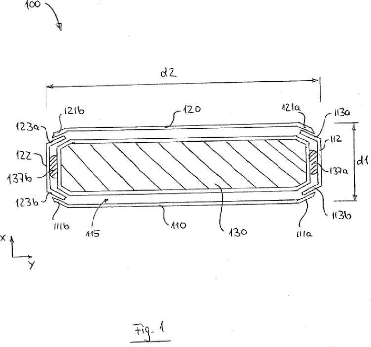 Molde y núcleo contraíble para la formación de paneles de muro de carga prefabricados.