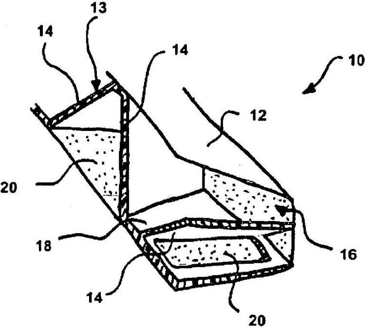 Procedimiento de fabricación de una pieza de estructura de vehículo automóvil, pieza de estructura, traviesa de cara delantera técnica y viga de parachoques.