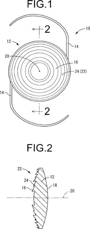 Método para fabricar una lente intraocular fáquica.