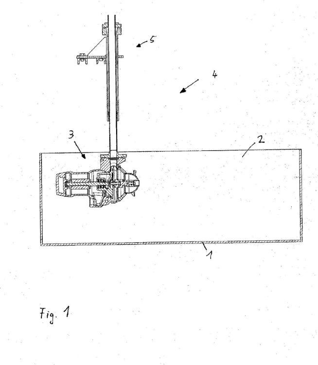 Dispositivo de mezclado y aireación y un procedimiento para mezclar y airear.