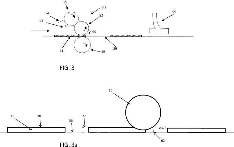 Sistema y método para realizar impresiones sobre goma de mascar.