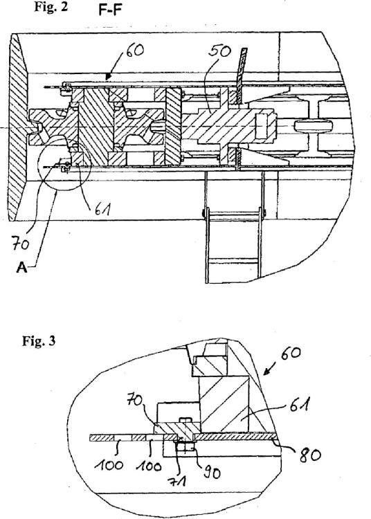 Mecanismo activador de cadena y máquina de trabajo.