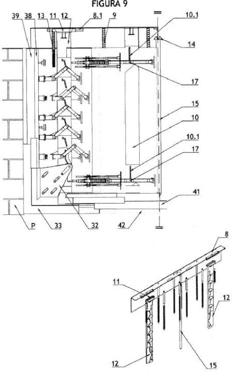 Sistema de sellado para huecos y puertas de edificaciones que evita o minimiza los efectos de las inundaciones.
