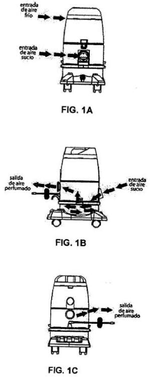 Aspiradora con funcionamiento hidrodinámico que no utiliza filtro ni bolsa para llevar a cabo la descontaminación.