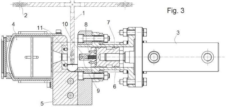 Util para la extracción de rodamientos de alto contenido de cobalto, de las barras de control de centrales nucleares usadas.