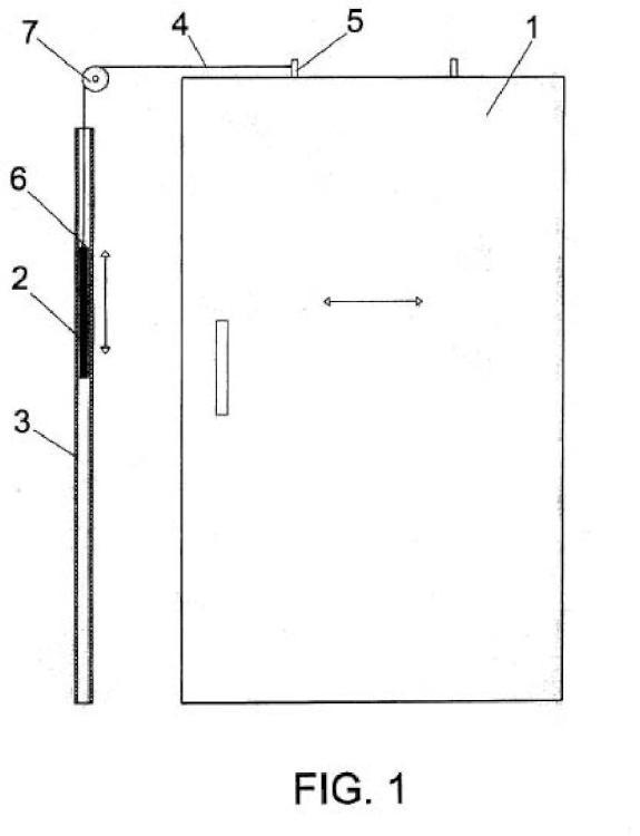 Sistema de traccionado para cierre automático de puertas correderas.