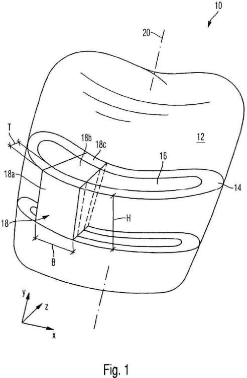 Procedimiento para la fabricación de una pieza de restauración dental y dispositivo CAD/CAM.