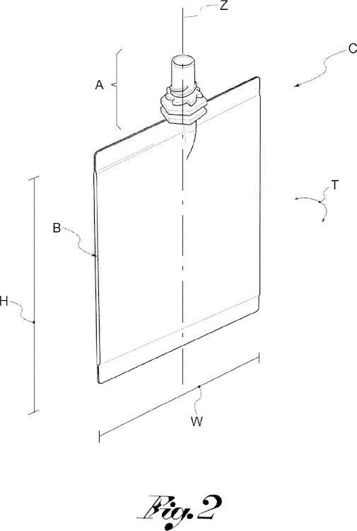 Dispositivo de esterilización con haces de electrones para recipientes de pared delgada y método de esterilización.