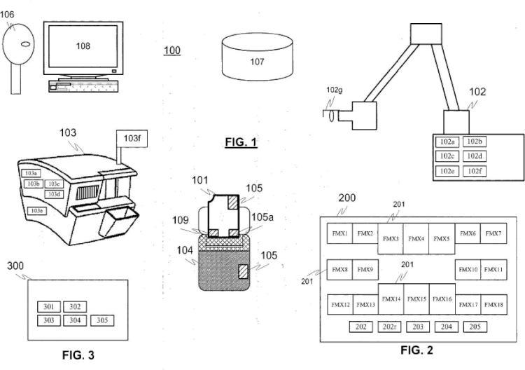 Una disposición para controlar placa de imagen y su información de imagen y un método para controlar la disposición.