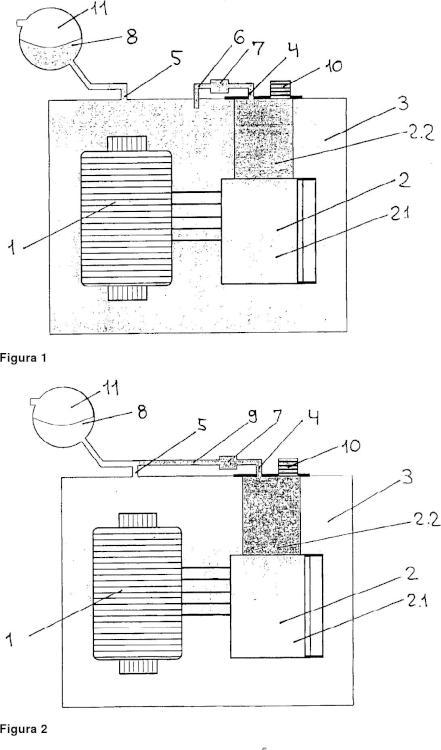 Transformador de potencia con conmutador de fases.