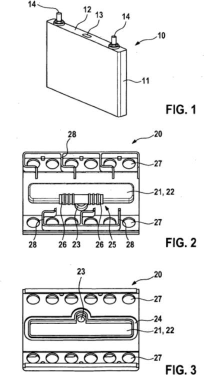Módulo de células de batería, procedimiento para hacer funcionar un módulo de células de batería así como batería y vehículo a motor.
