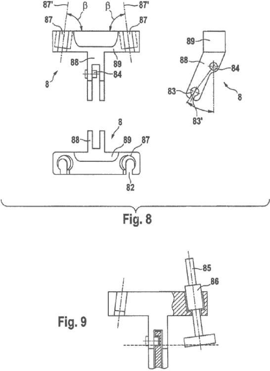 Instrumental para la inserción de una prótesis articulada, en particular prótesis de rodilla.