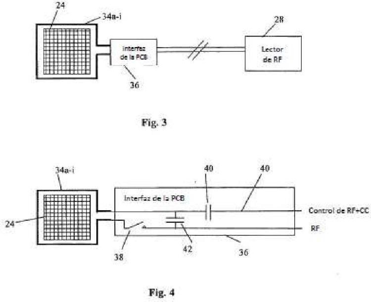 Un sistema de monitoreo de RFID.