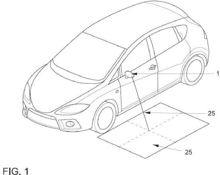 Luz de proximidad para vehículo automóvil.
