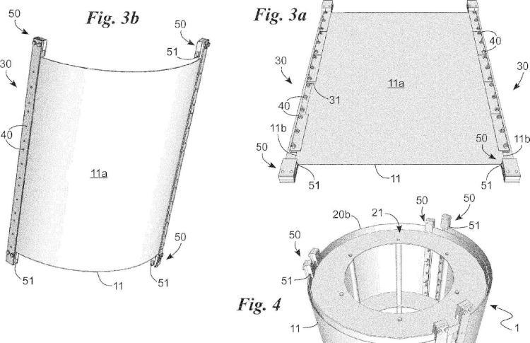 Dispositivo de soporte para placas de impresión.