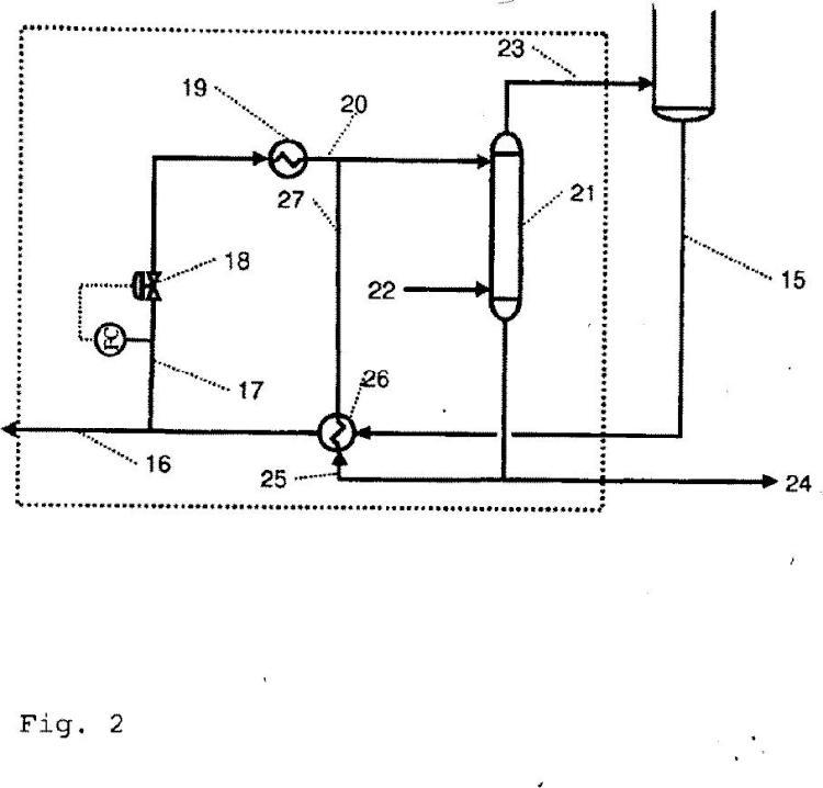 Procedimiento para hidrocraquear una materia prima de alimentación hidrocarbonada.