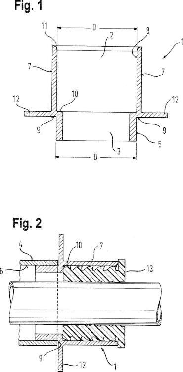 Sistema para embeber un conducto sellable para la canalización de un tubo o un cable en una pared o en un suelo que va a ser producido mediante un procedimiento de moldeo, y procedimiento para embeber tal conducto.