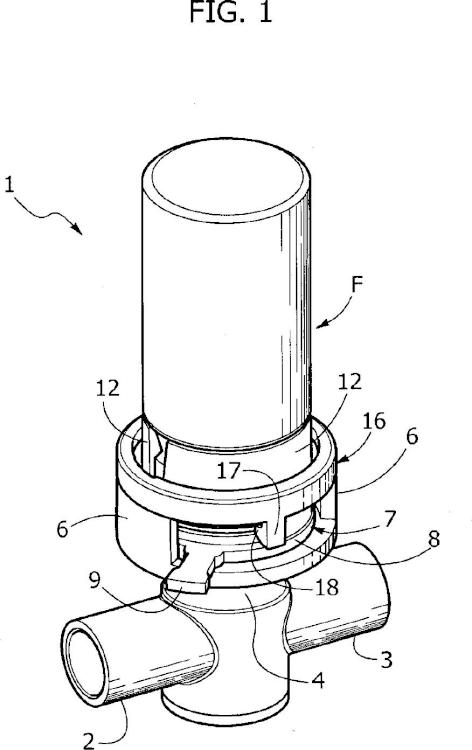 Dispositivo para el suministro controlado de un líquido a una línea de flujo médico.