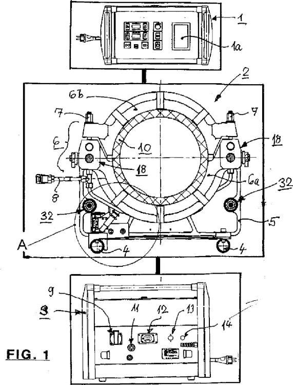 Procedimiento y dispositivo para soldar secciones de tubo de materiales plásticos para formar tubos.