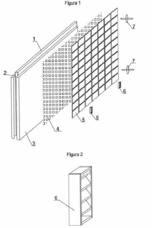 Placas para revestimiento térmico, acústico e ignífugo para la construcción tanto exterior como interior.