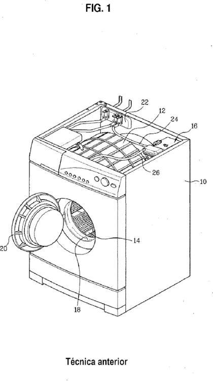 Procedimiento de control de una máquina de lavar que incluye un generador de vapor.