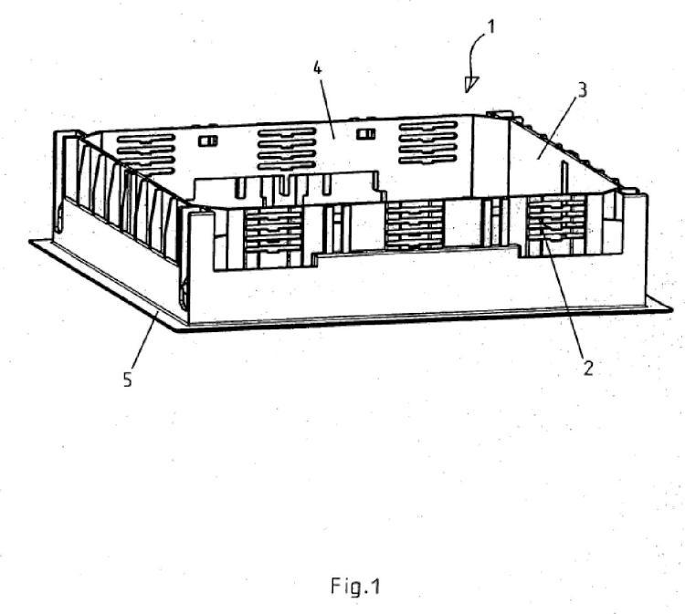 Portamecanismos para instalaciones eléctricas bajo suelo.