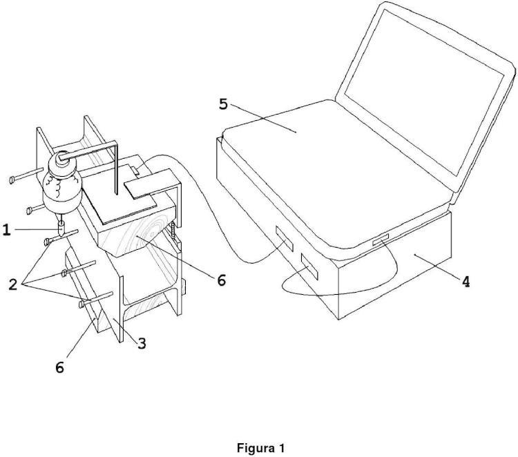 Sistema de inspección de soldaduras de pernos conectores mediante su espectro acústico.
