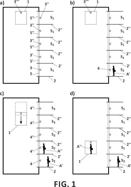 Método y sistema de señalización de estado para un aparato elevador y aparato elevador que comprende dicho sistema.