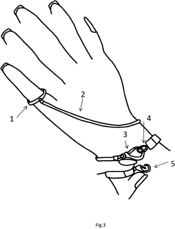 Dispositivo de abrochado de pulseras.