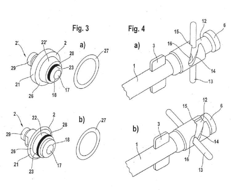 Instrumento de implantación para cavidades articulares de prótesis.