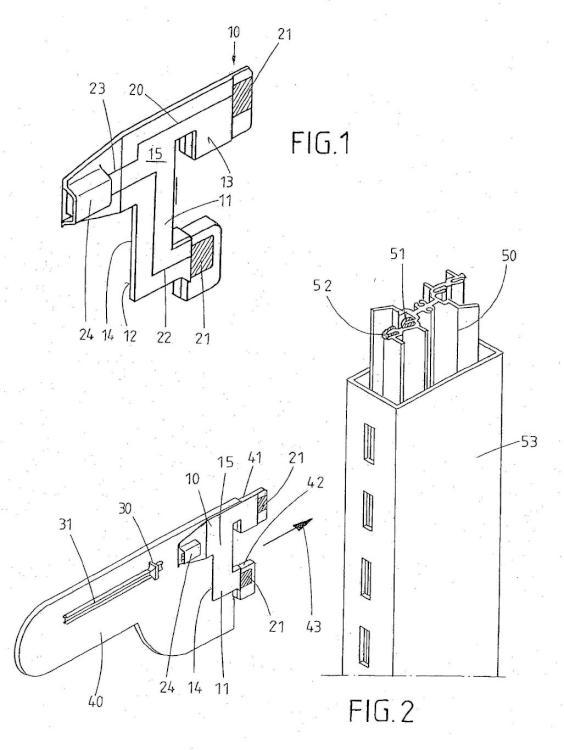 Sistema con dispositivo para la aportación de energía eléctrica a un receptor.