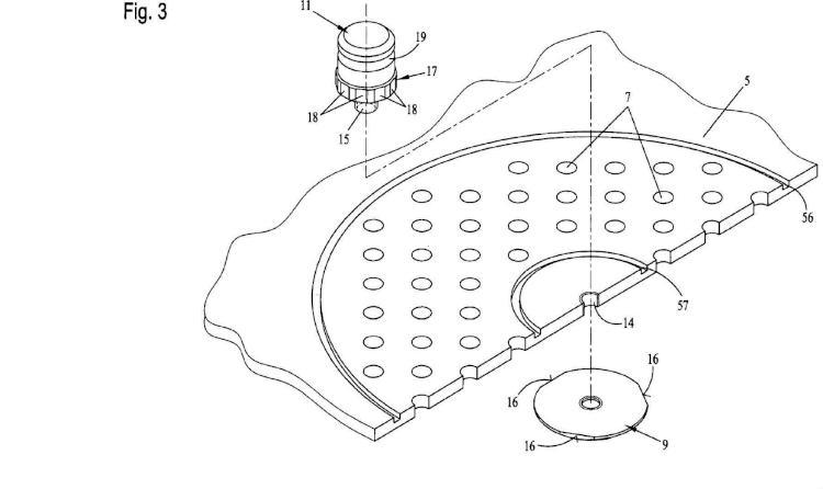 Ilustración 3 de la Galería de ilustraciones de Soporte de filtro para contenedores estériles