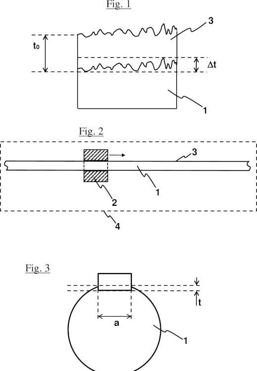 Guía para corredera de soporte de cabezal de impresión de impresora, procedimiento de obtención de una guía de impresora e instalación para la obtención de esta guía.