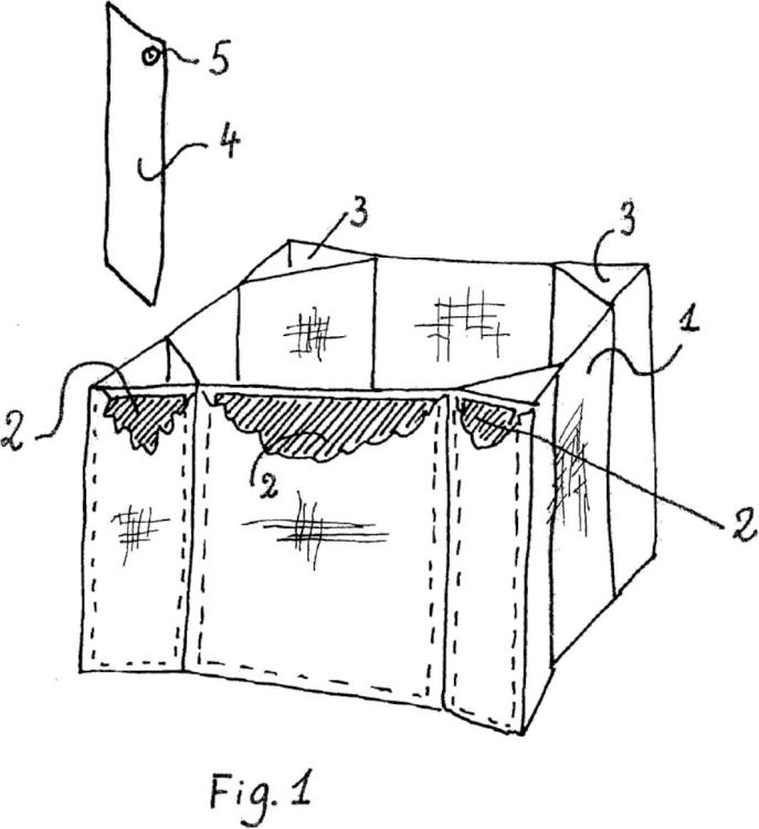 Procedimiento para aumentar temporalmente la resistencia a la compresión vertical de un saco para el transporte y la manipulación de líquidos y cuasi líquidos y saco resultante del procedimiento.