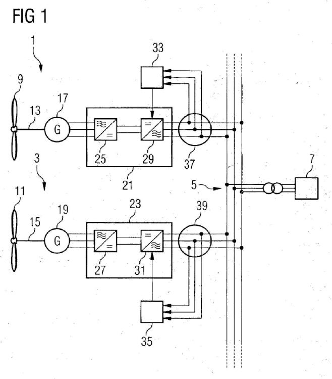Instalación de energía eólica y método para controlar la potencia de salida de una instalación de energía eólica.