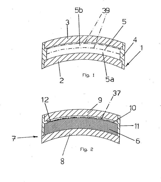 Método para la fabricación de un elemento óptico hecho de material plástico termoestable para su uso en dispositivos de protección de los ojos y elemento óptico así obtenido.
