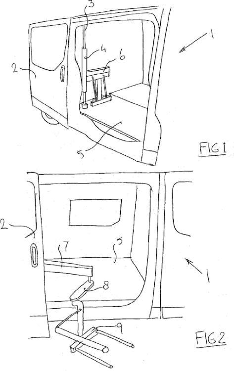 Elevador de silla hidráulico.