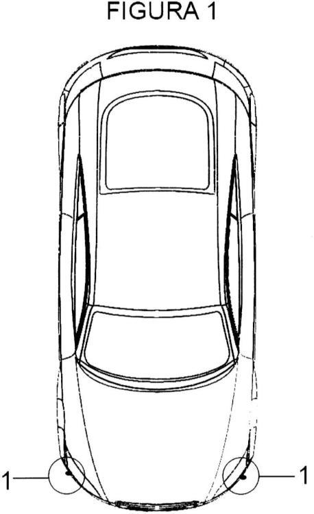 Disposición de cámaras de cruce para vehículos.
