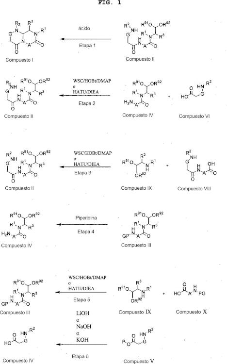 Miméticos de hélice alfa y métodos relacionados con los mismos.