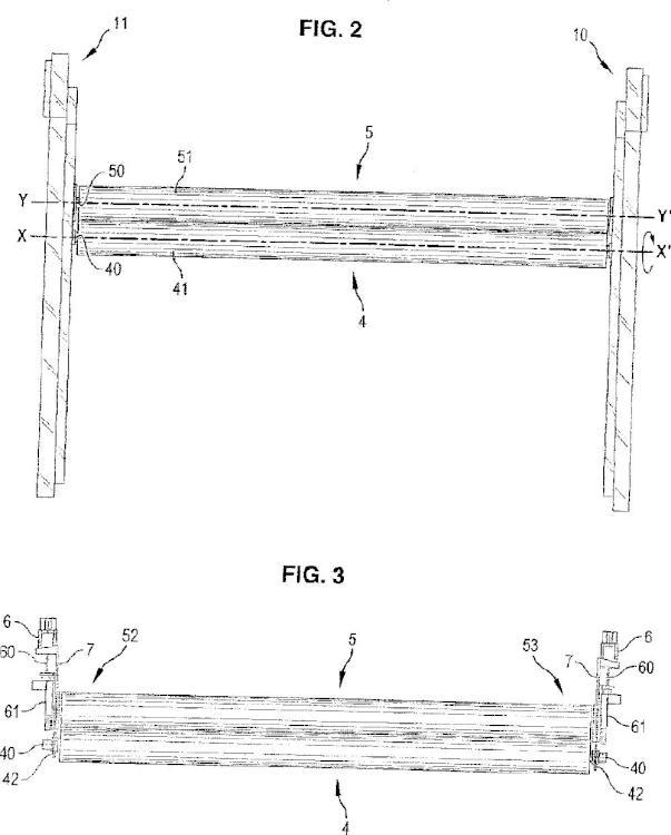 Máquina para contraencolar un soporte, en particular para plastificar un documento, mediante laminación.
