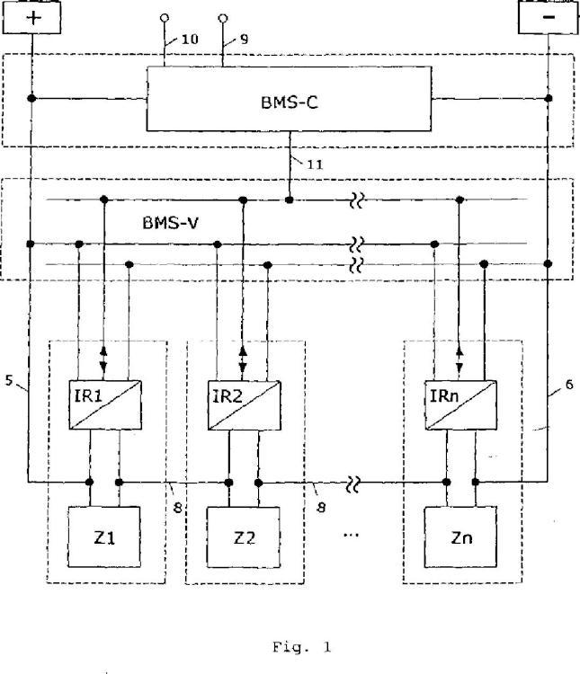Conjunto de almacenamiento de energía y procedimiento para operar un conjunto de este tipo.
