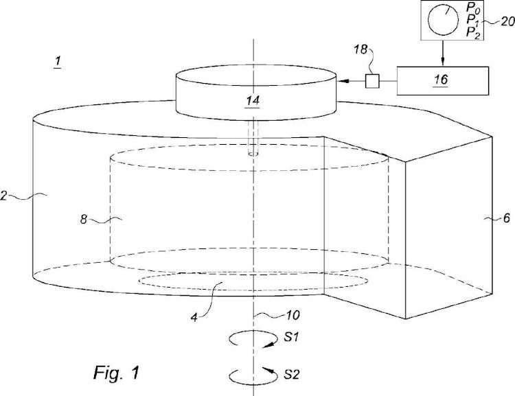 Procedimiento de control de un motor eléctrico dispuesto para arrastrar una turbina de un motoventilador.