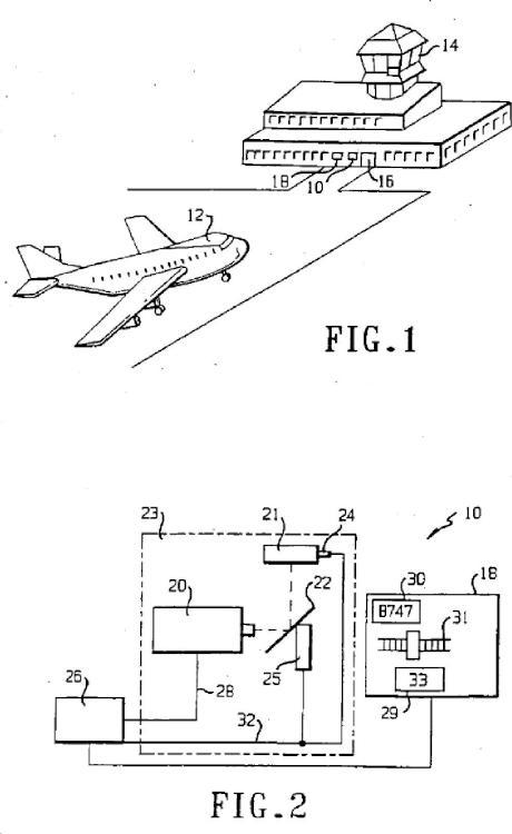 Sistemas de guiado de atraque y de identificación de aeronaves.