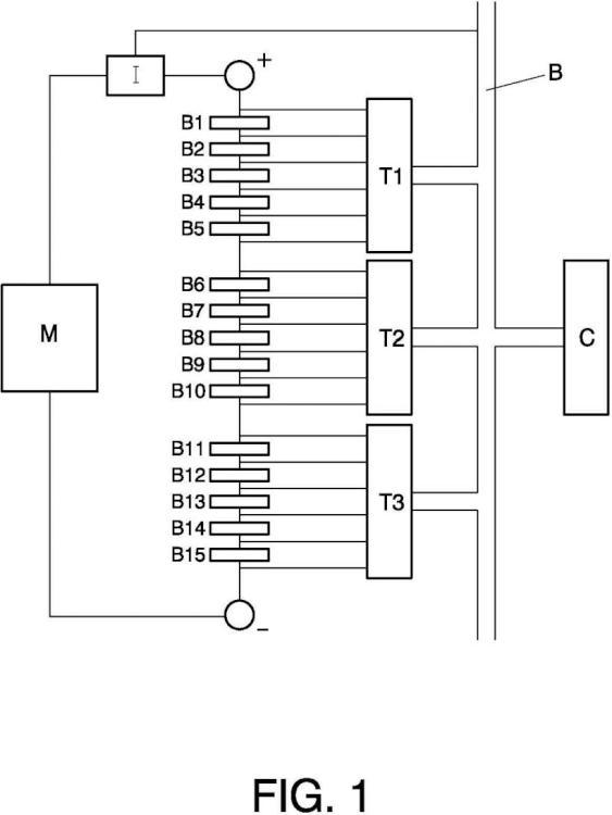 Sistema de gestión electrónico para monitorización y control de baterías de litio.