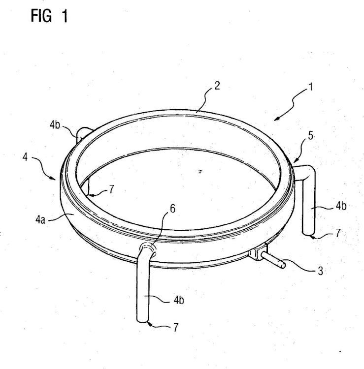 Electrodo de acoplamiento para la toma de tensión capacitiva dentro del cuerpo aislante de un pasamuros o de un aislador de soporte.