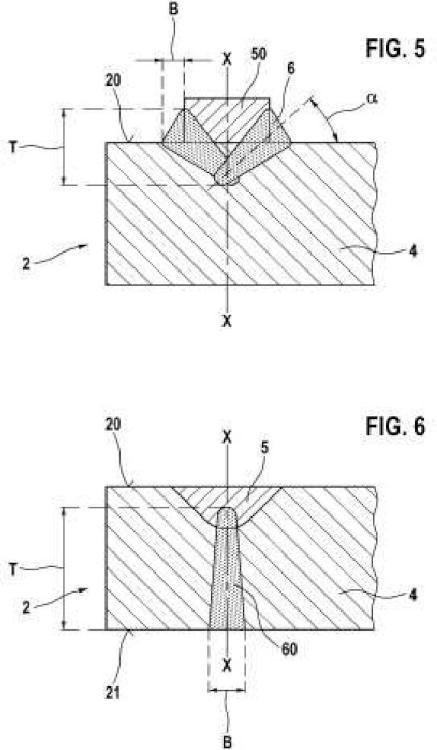 Electrodo para una bujía así como procedimiento para su elaboración.