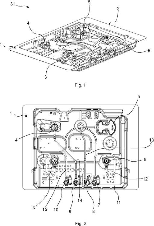 Válvula reguladora de gas, punto de cocción, y cocina de gas.