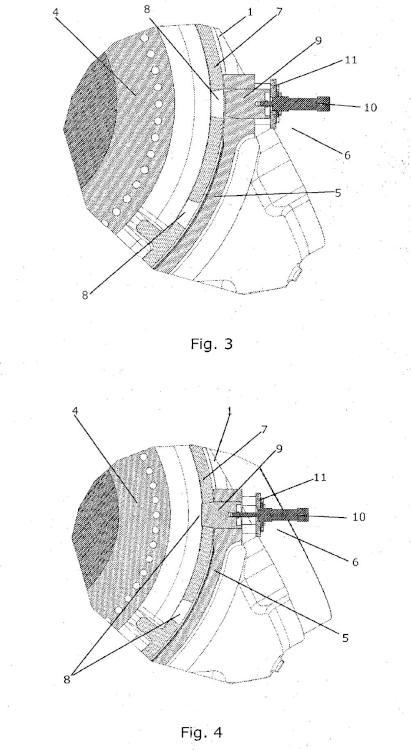 Bloqueo de rotor para una turbina eólica.